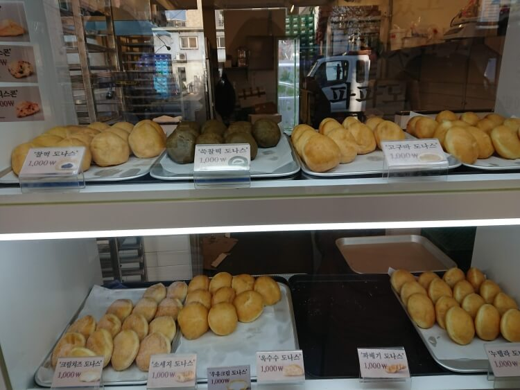 ソウル、地元で人気のドーナツ専門店