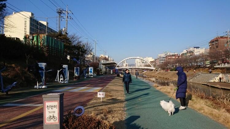 韓国セジョル駅の周辺風景