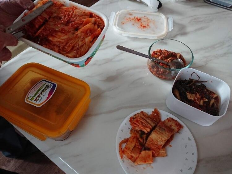 ソウルの実家ご飯