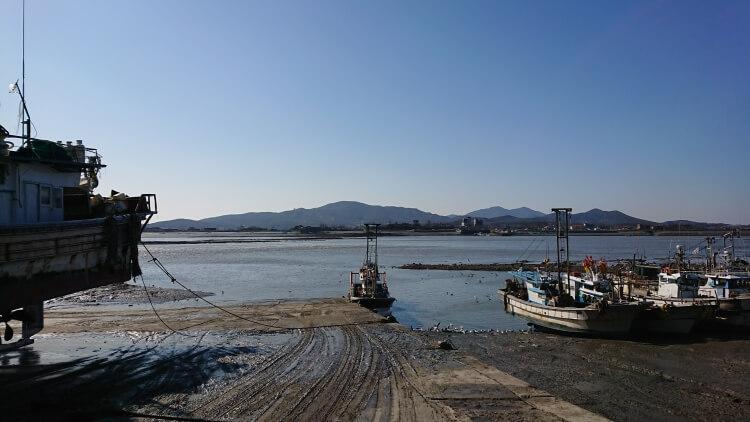 ソウルの魚市場