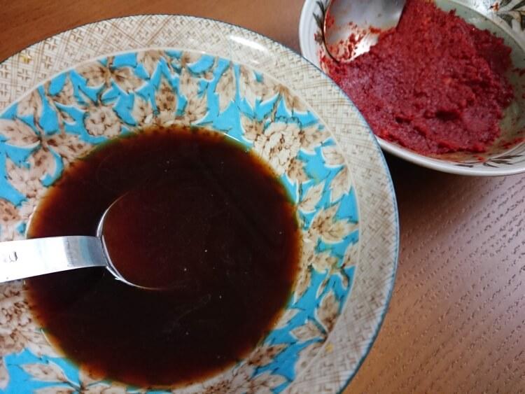 タッカンマリのタレ(醤油ダレ)のレシピ