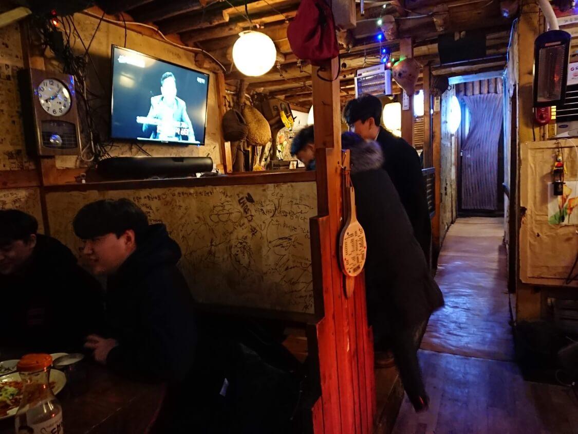 ソウルの人気居酒屋