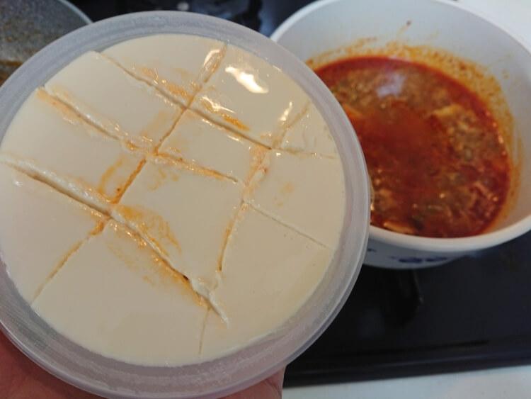 スンドゥブチゲのレシピ