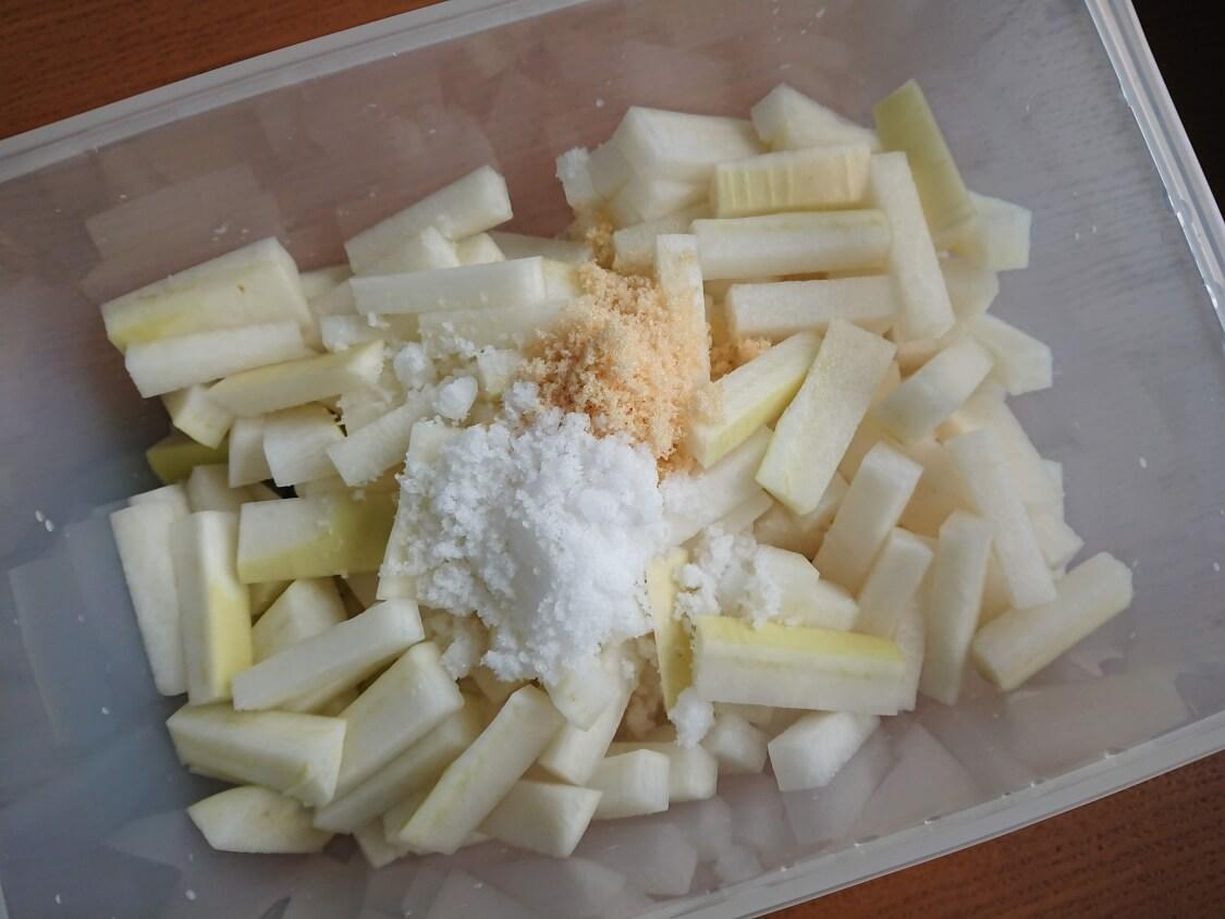 大根の水キムチ「トンチミ」の韓国レシピ