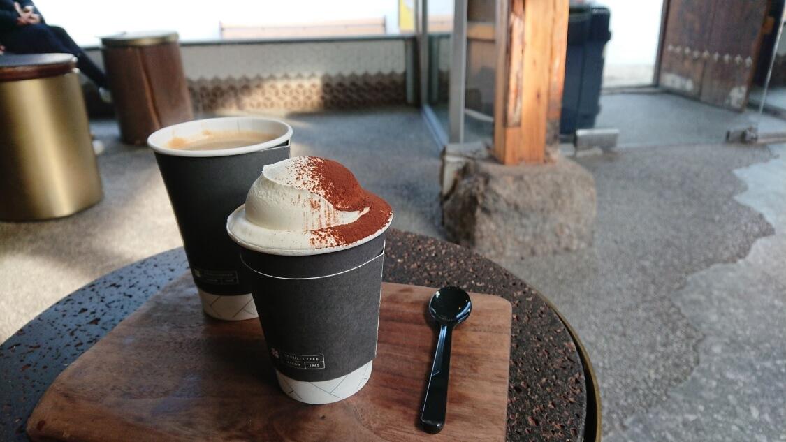 益善洞の人気カフェ、SEOUL COFFEE(ソウルコーヒー)