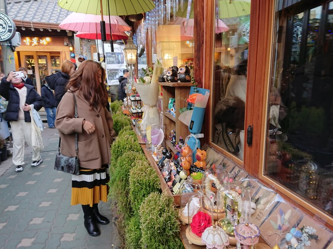 ソウルの人気スポット益善洞(イクソンドン) の風景