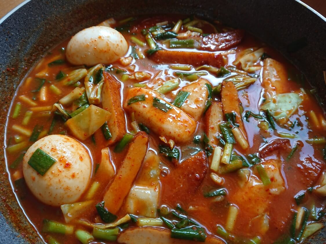 トッポギの韓国レシピ