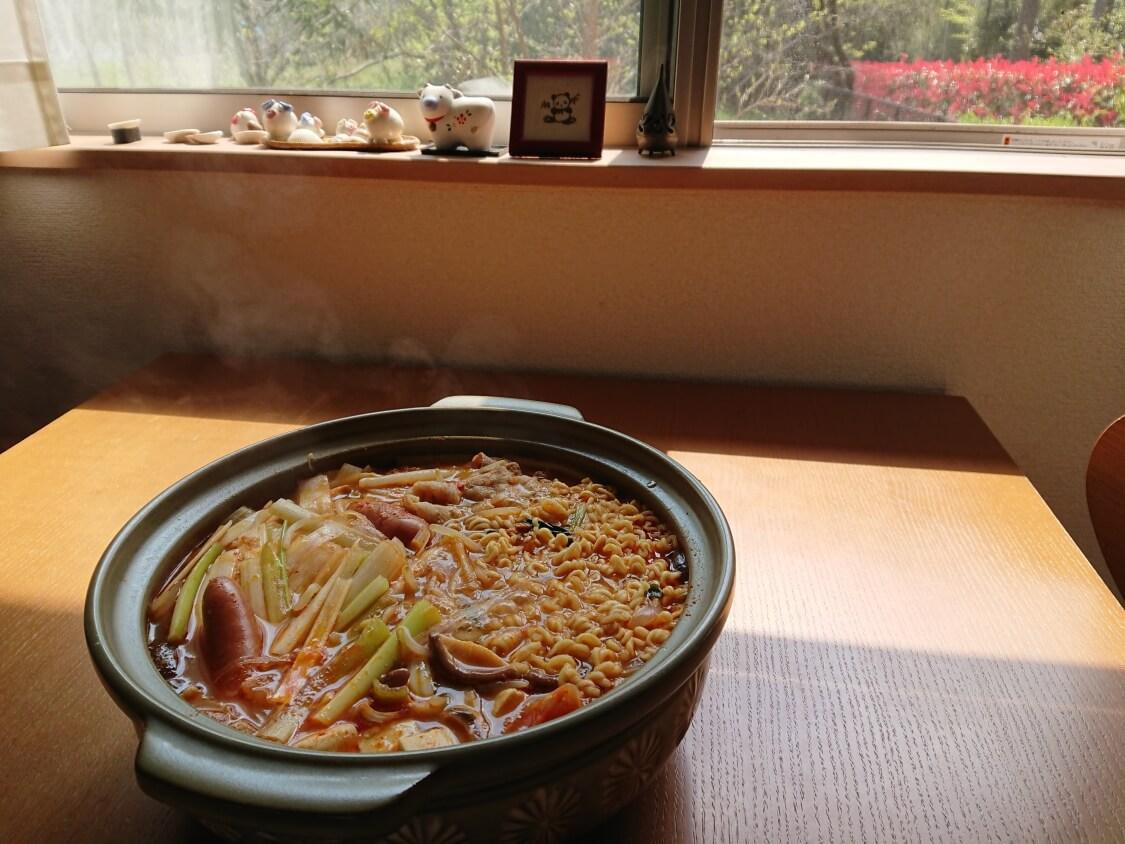 チゲ鍋のレシピ