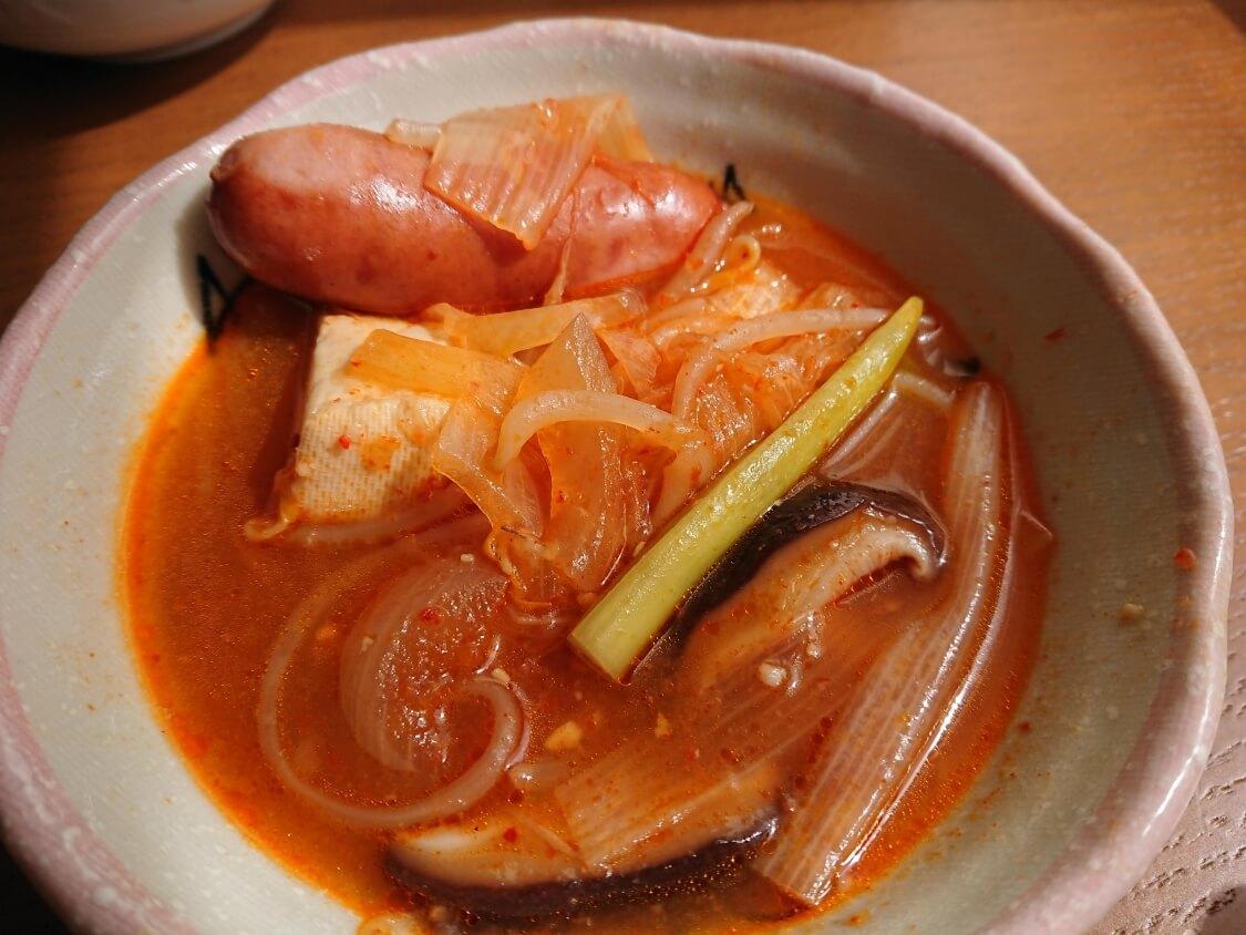 韓国チゲ鍋の食べ方