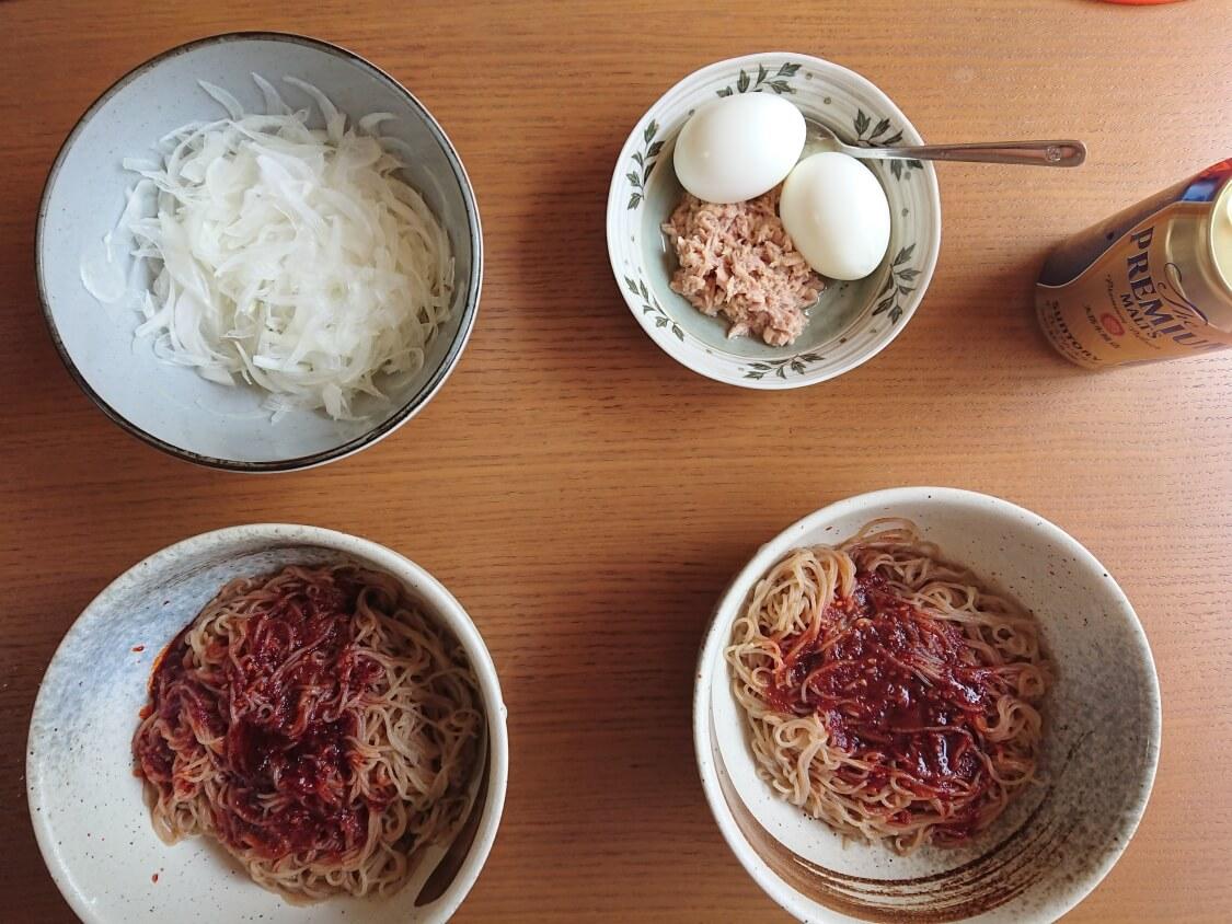 「ふるる冷麺」の作り方