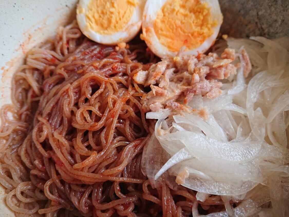 「ふるる冷麺」のアレンジレシピ