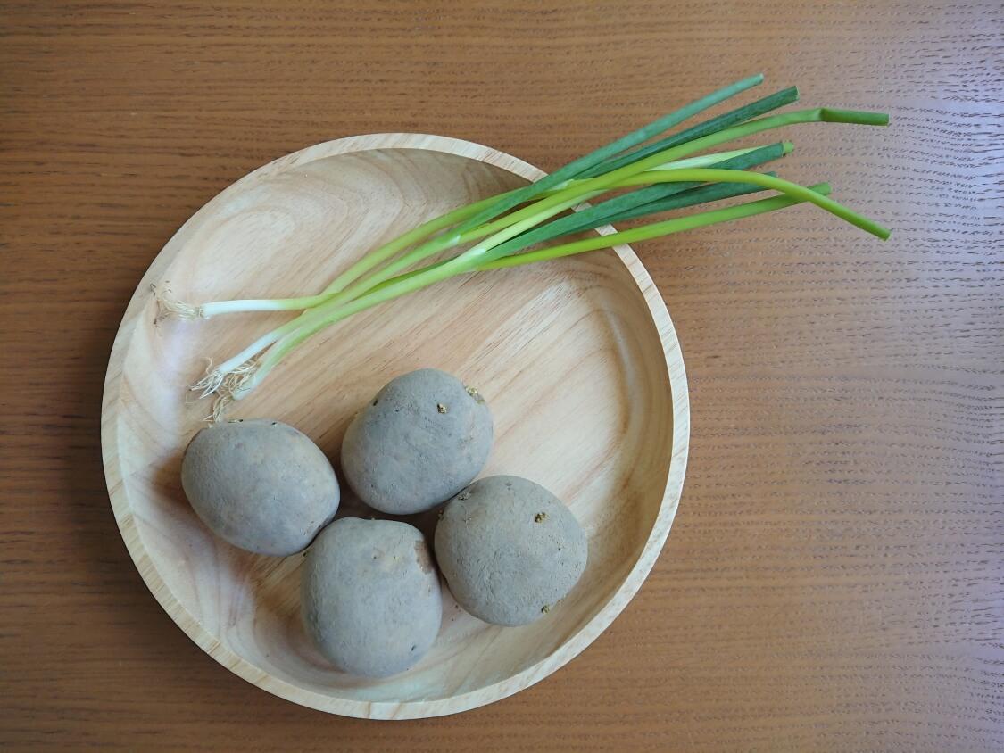カムジャジョン(じゃがいものチヂミ)の韓国レシピ材料