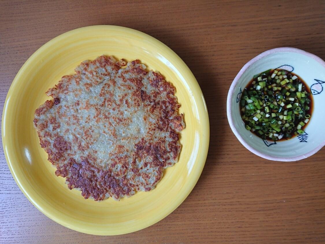 カムジャジョン(じゃがいものチヂミ)のレシピ
