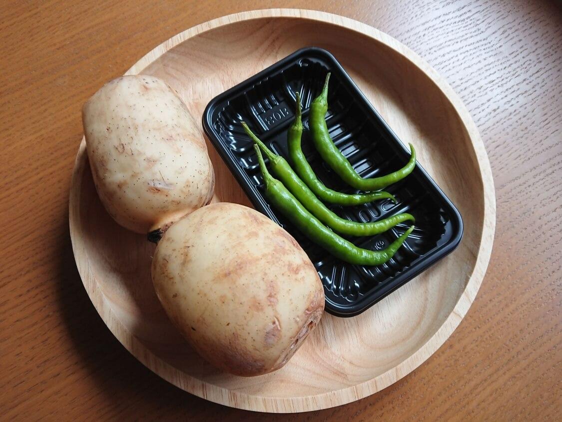 レンコンのきんぴらの簡単レシピ、材料