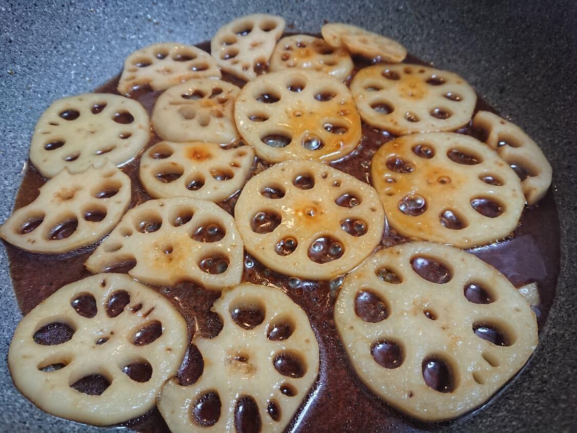 レンコンのきんぴらの簡単レシピ