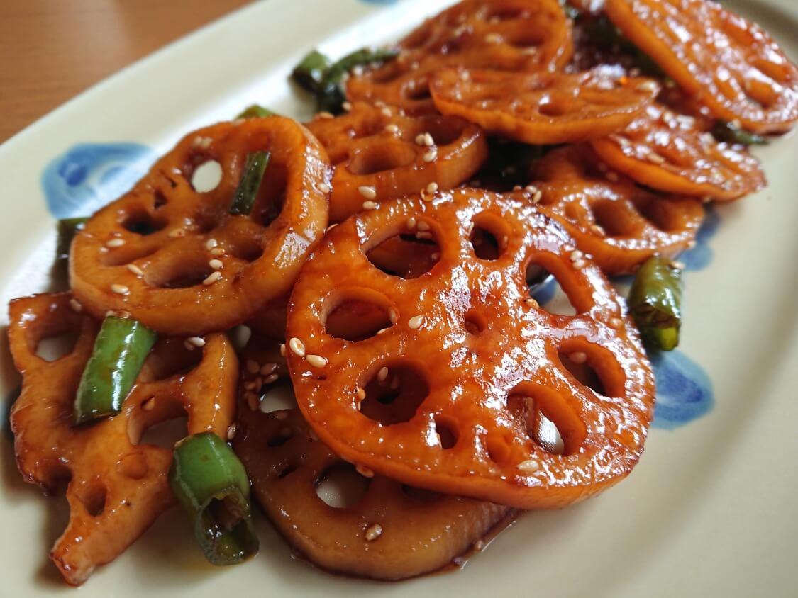 韓国のレンコンのきんぴらレシピ