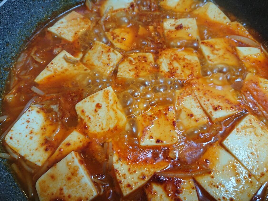 ツナ入り豆腐チゲの簡単レシピ