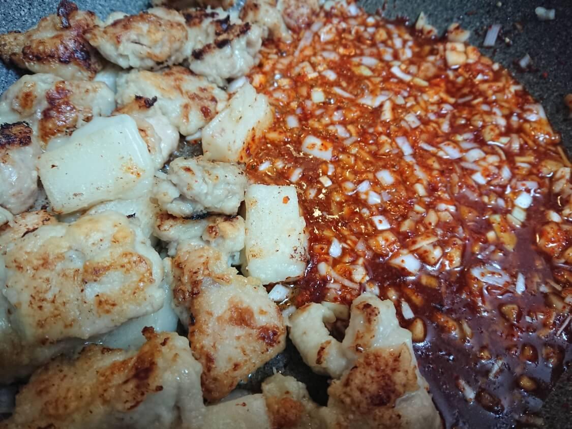 ヤンニョムチキンのアレンジレシピ