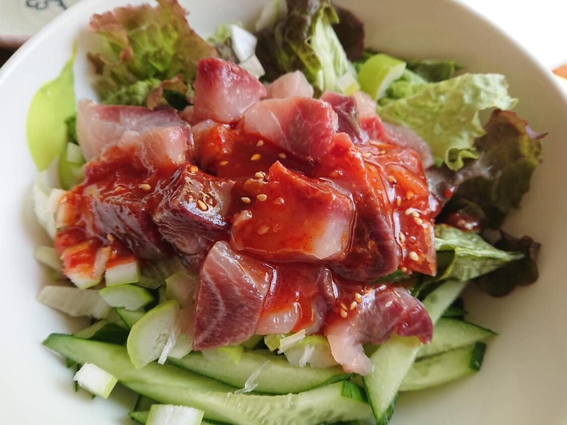 韓国の海鮮ユッケ丼(マグロユッケ丼)のレシピ