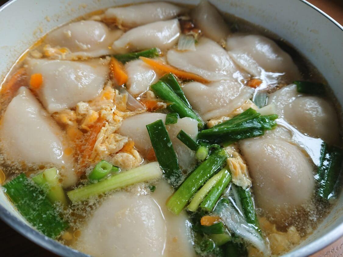 餃子スープ(韓国マンドゥクッ)