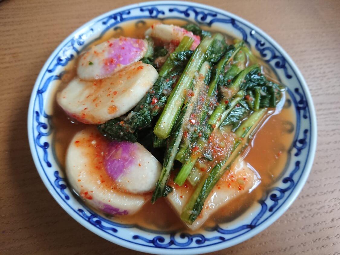 かぶのキムチ(韓国のヨルムキムチ)のレシピ