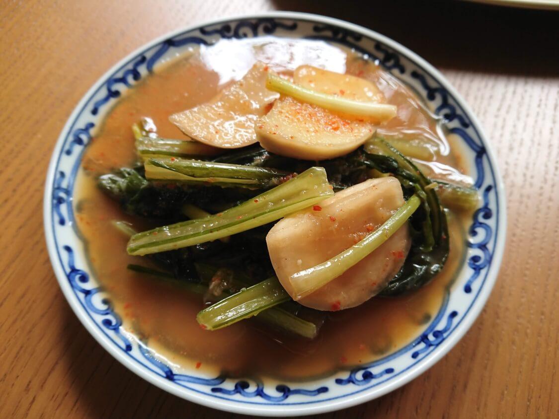 かぶのキムチ(韓国のヨルムキムチ)