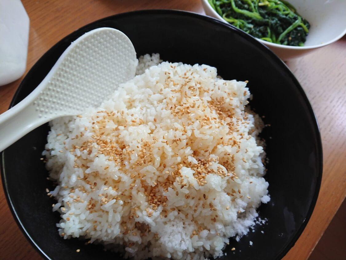 韓国の海苔巻きキンパの簡単レシピ。ご飯の味付け