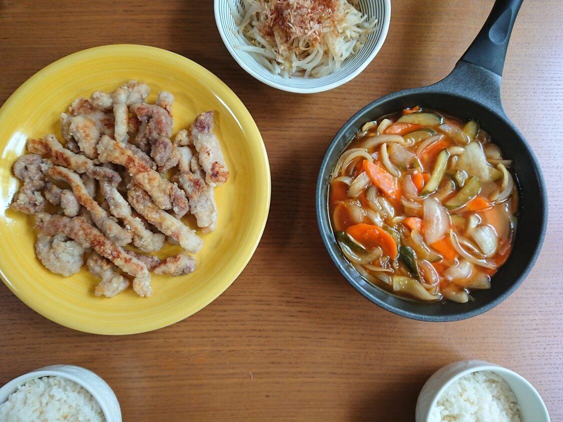 酢豚(韓国タンスユク)のレシピ。完成