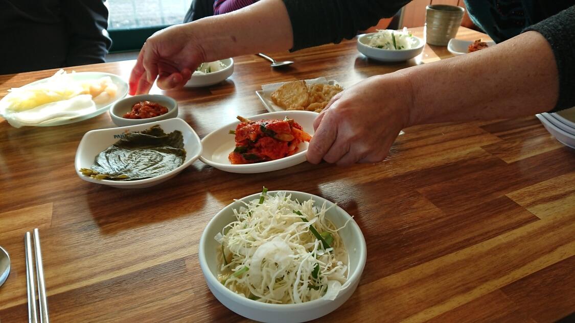 韓国のうなぎの食べ方