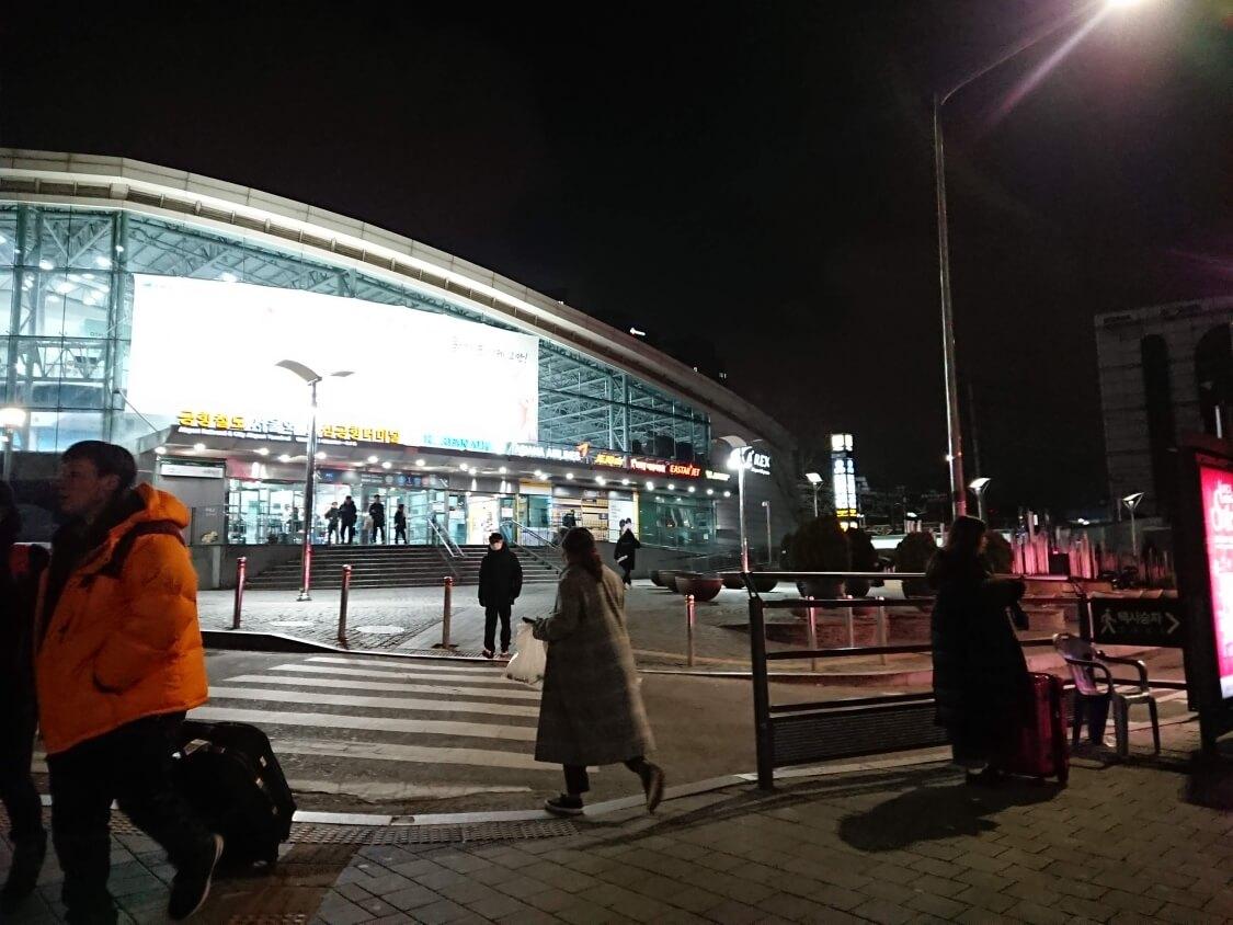 ソウル駅に到着