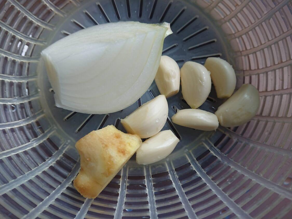 ポッサムの韓国人気レシピの材料