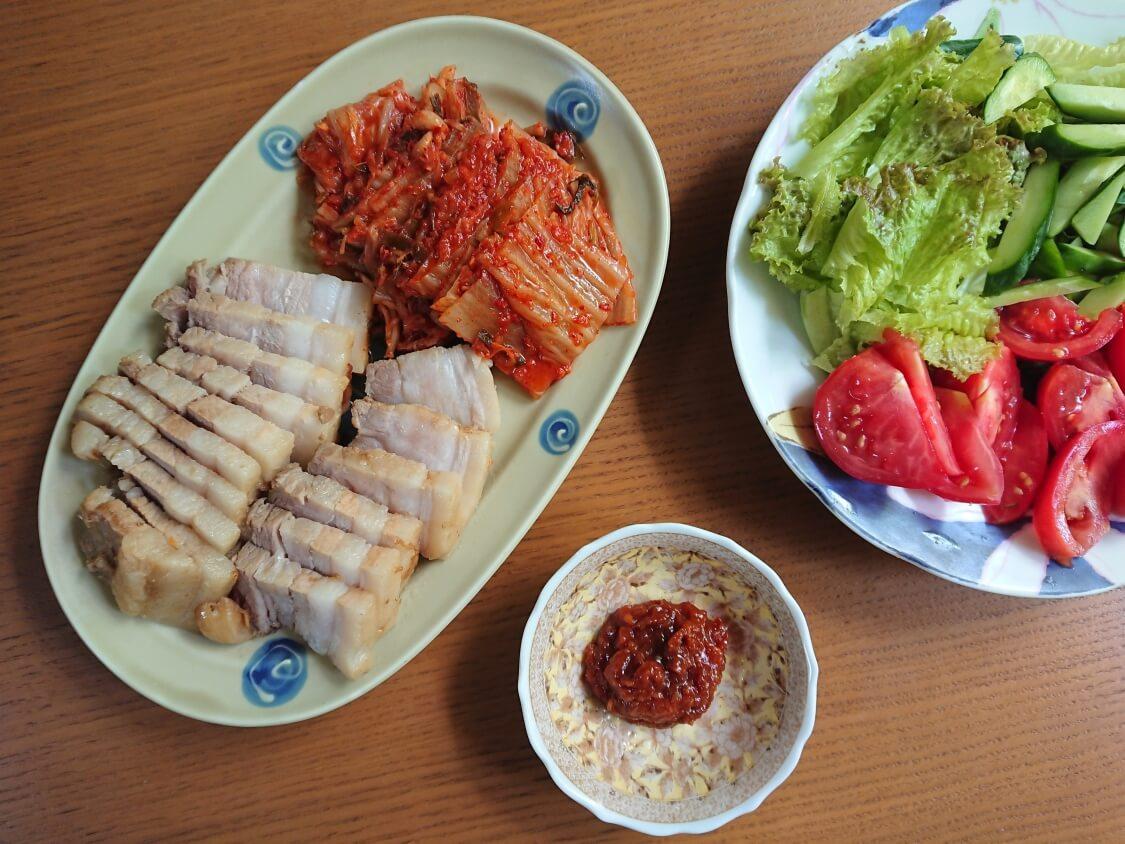 ポッサムの韓国人気レシピ。完成
