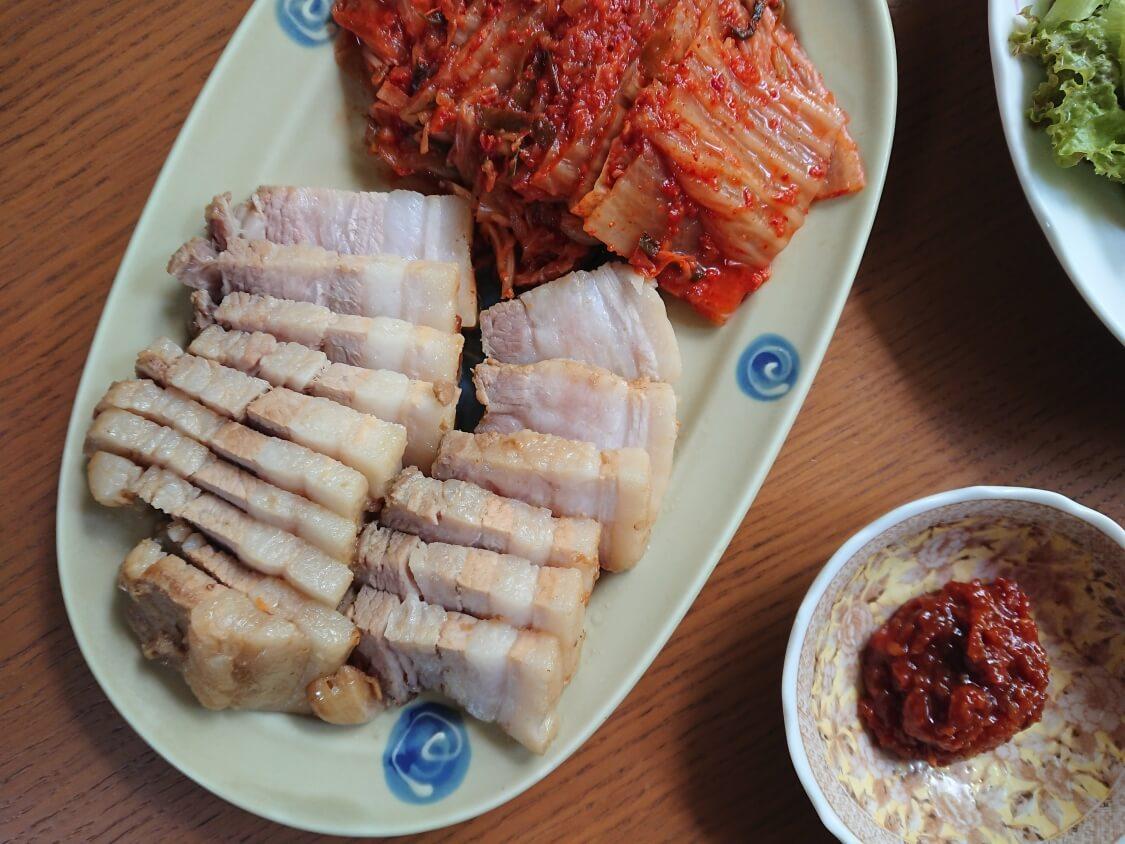 ポッサムの韓国人気レシピ。ポッサムキムチ