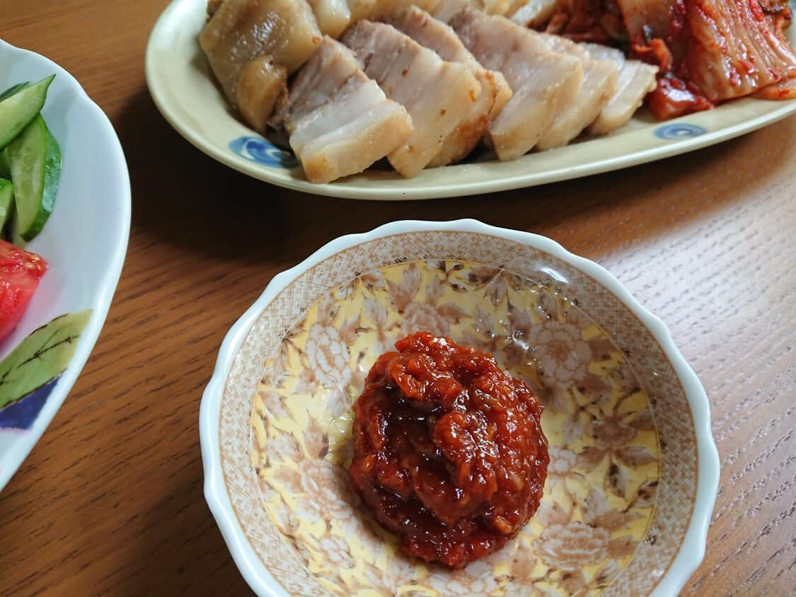 ポッサムの韓国人気レシピ。タレ