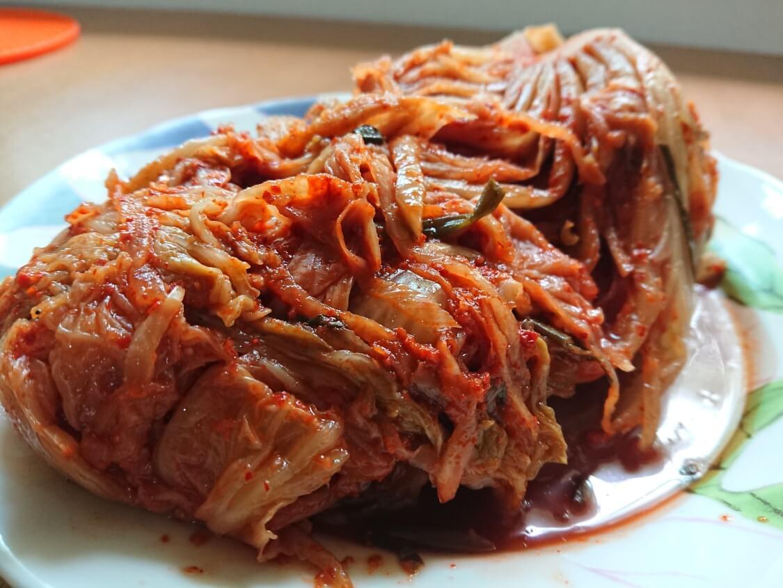 韓国の熟成白菜キムチ