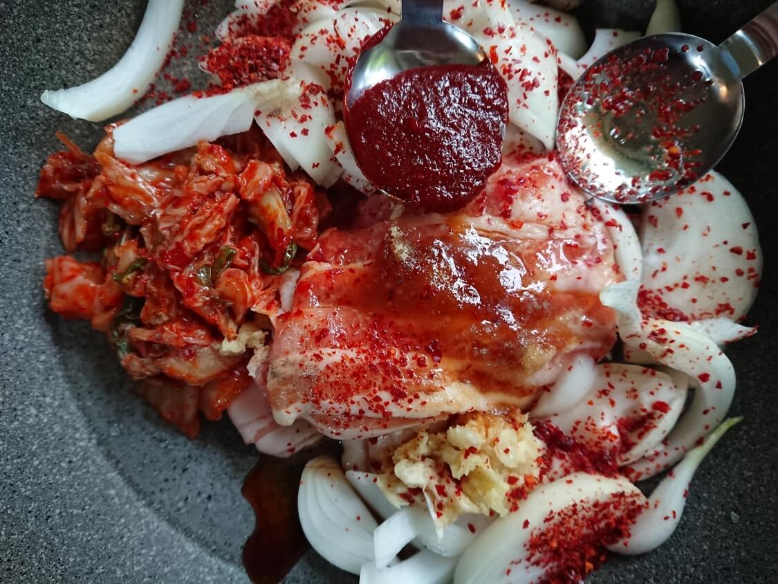 豆腐キムチの韓国レシピ