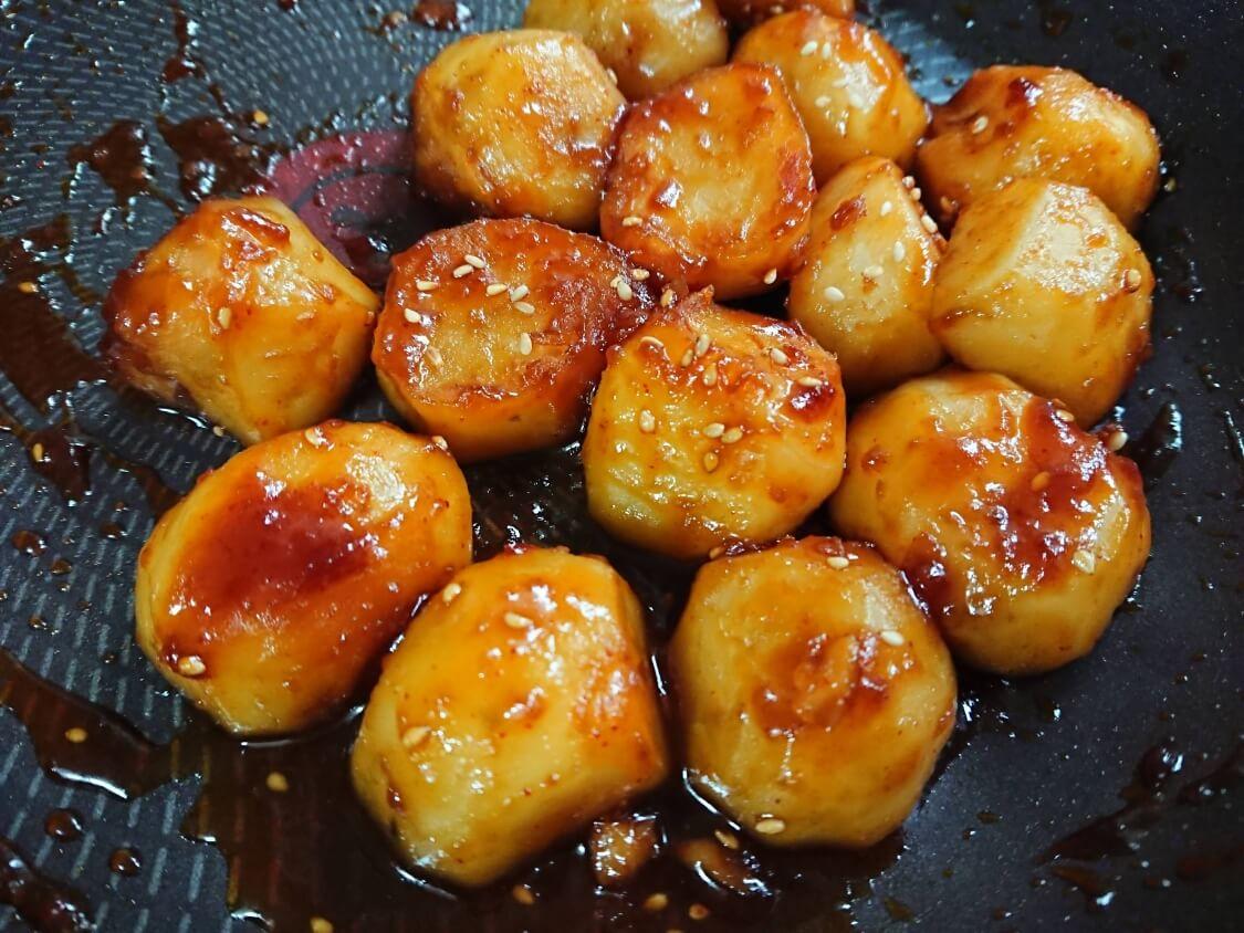 じゃがいもの煮物(韓国カムジャチョリム)