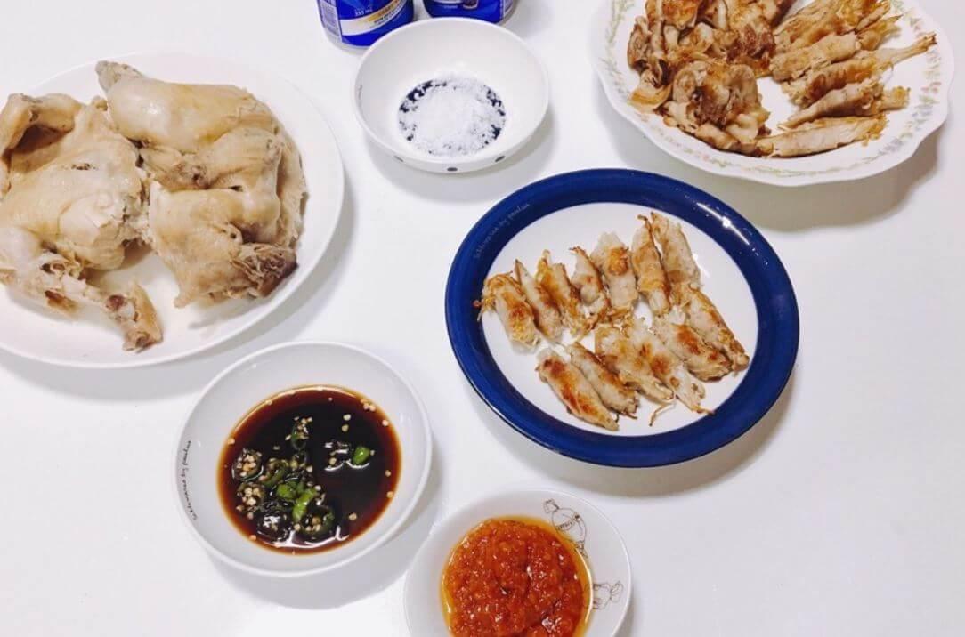 えのきの豚バラ巻き、韓国のレシピ