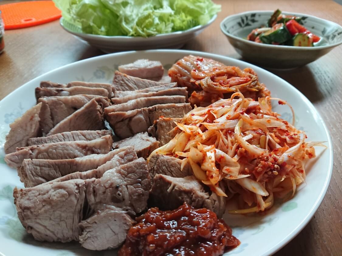 韓国料理ボッサム