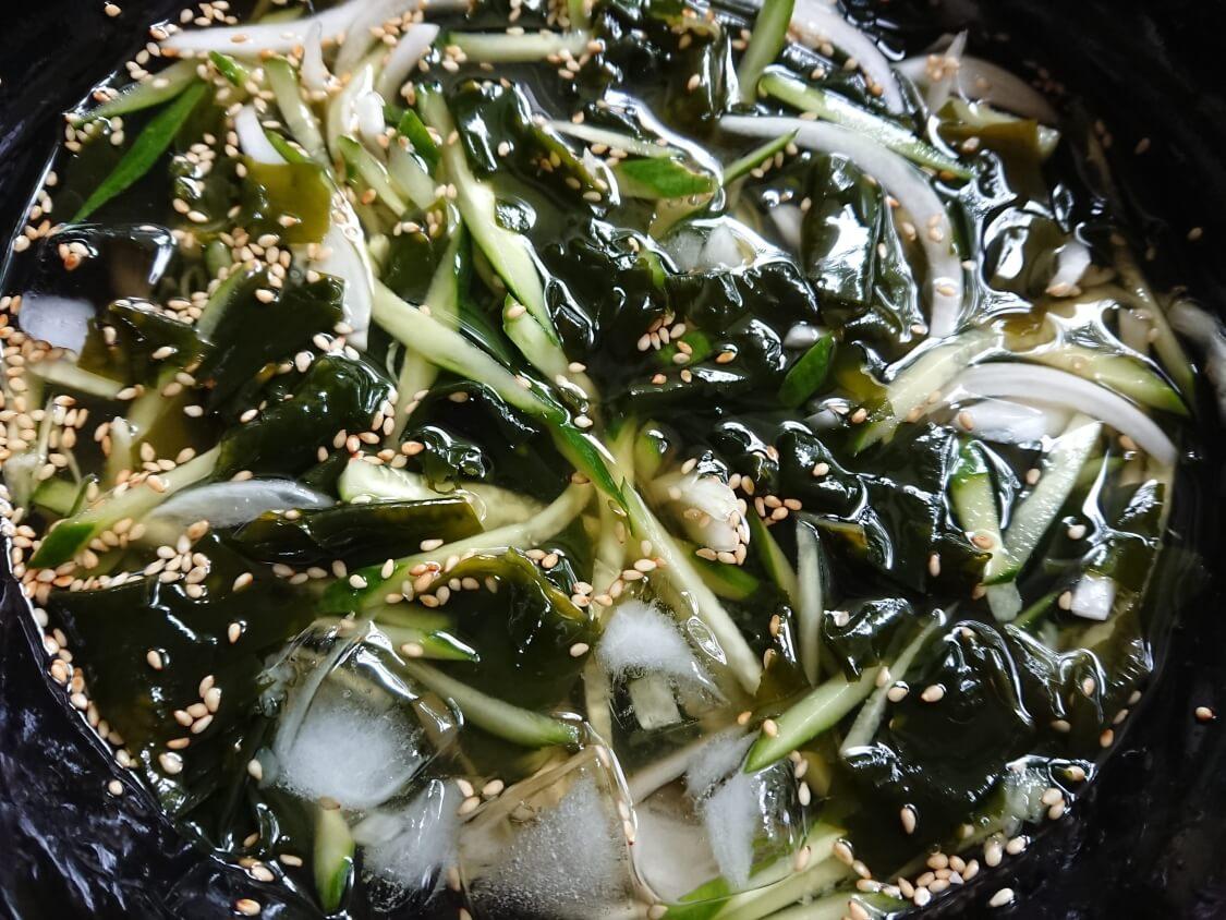 きゅうりとわかめの韓国冷製スープのレシピ