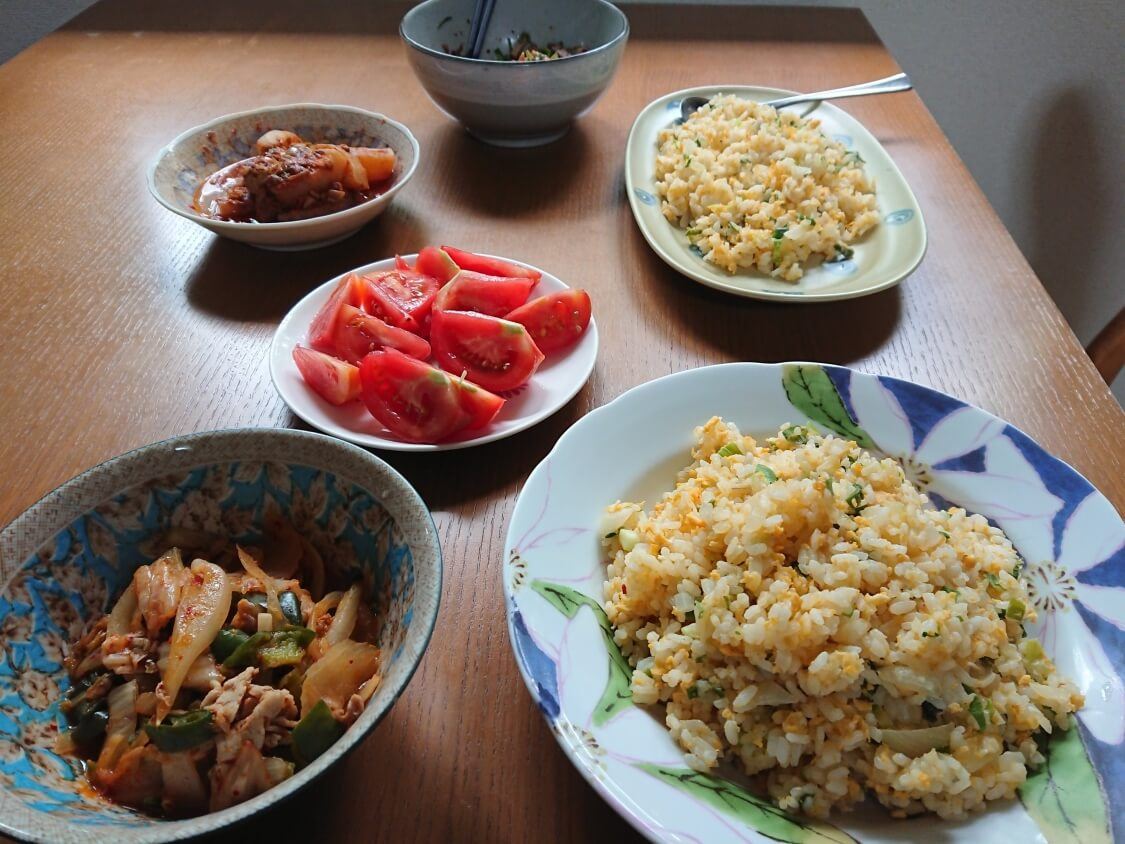 煮豚ポッサム肉の残りで簡単アレンジレシピ。チャーハン、丼のトッピングとして