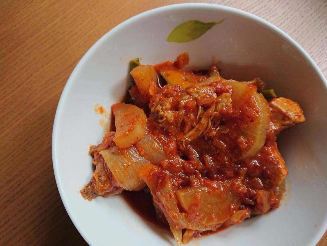 旨辛~スペアリブの煮込みレシピ。テジカルビチム♪韓国料理調理師の作り方
