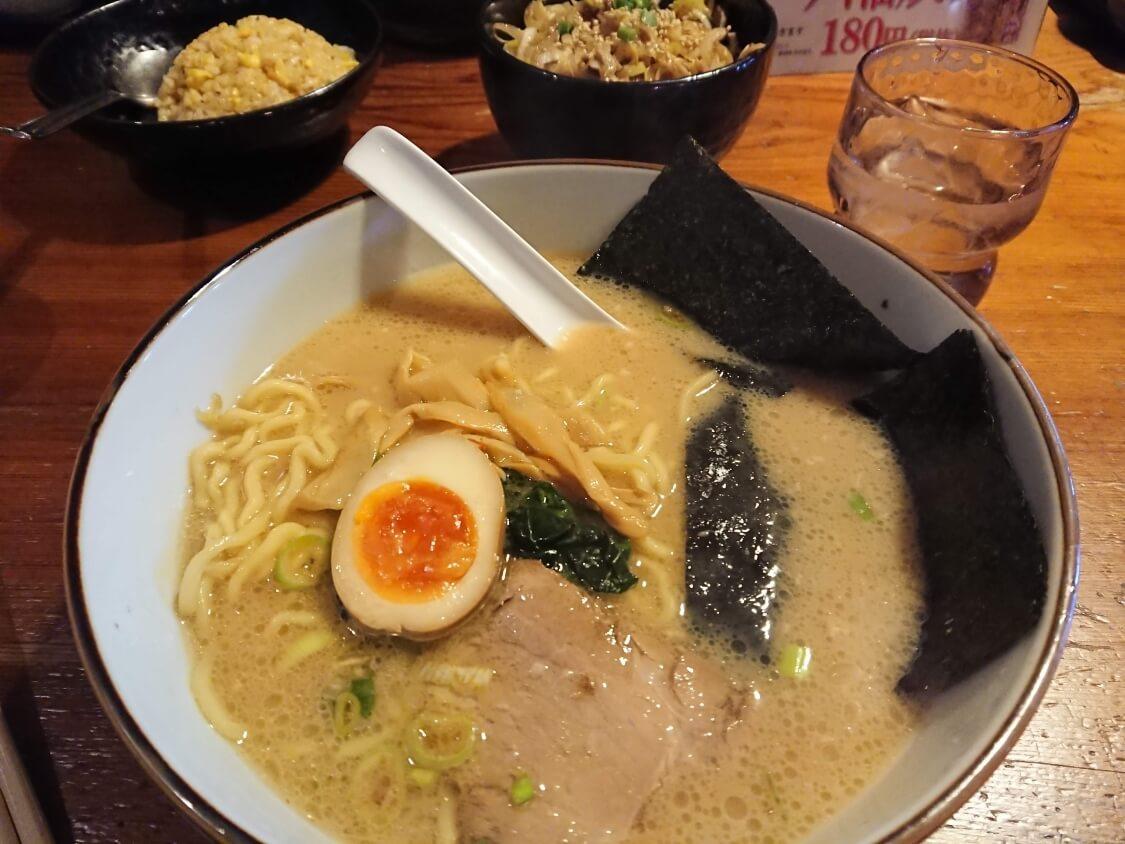 横濱屋のネギチャーシュー丼