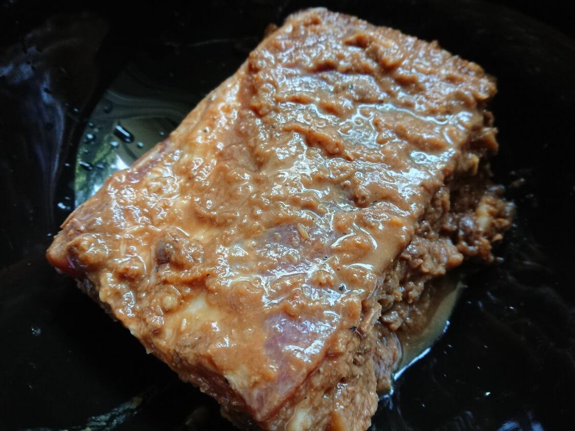 レンジで簡単!ポッサムのレシピ。お肉の味付け