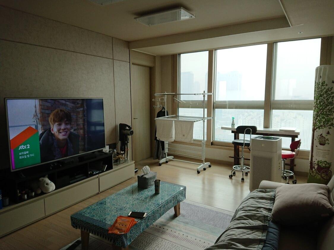 ソウル汝矣島IFCモールに行く前に姉の家で