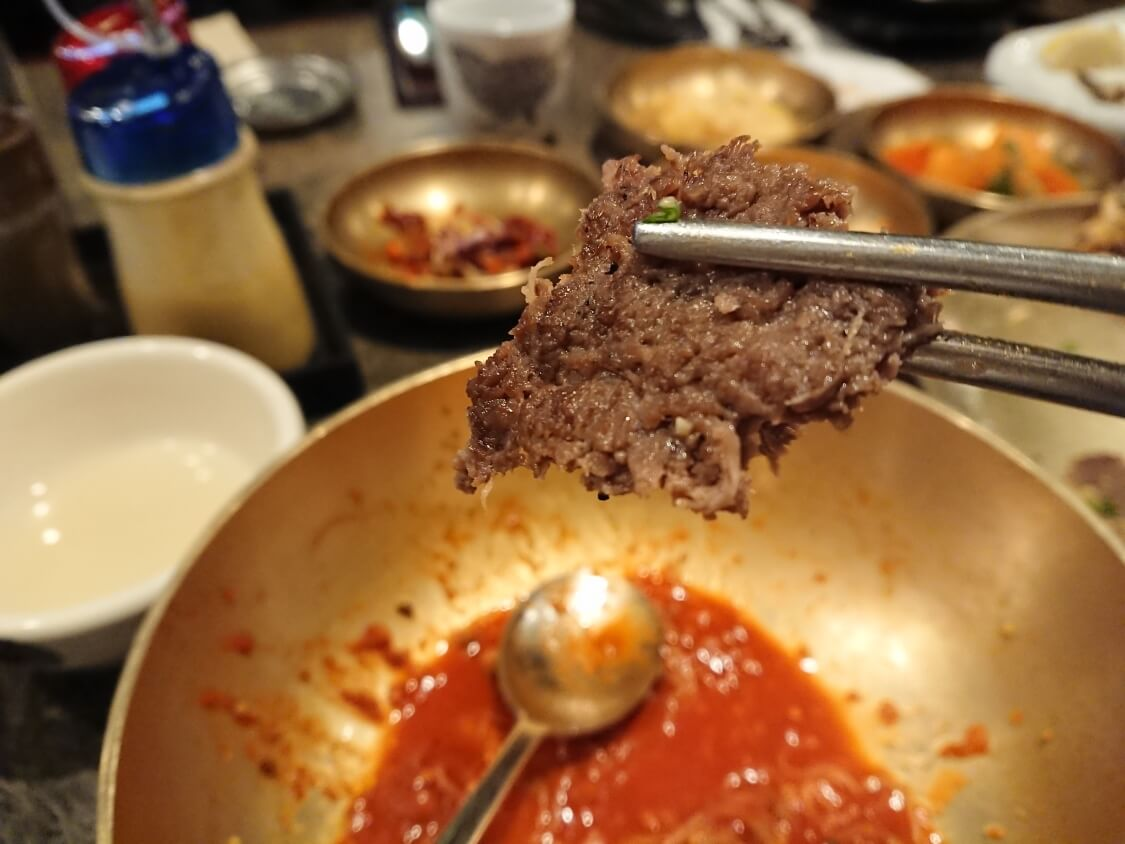 ソウル汝矣島IFCモールのレストランで食べた冷麺&トッカルビ
