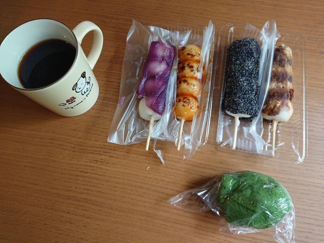 日本の草餅、団子(ソンピョン)