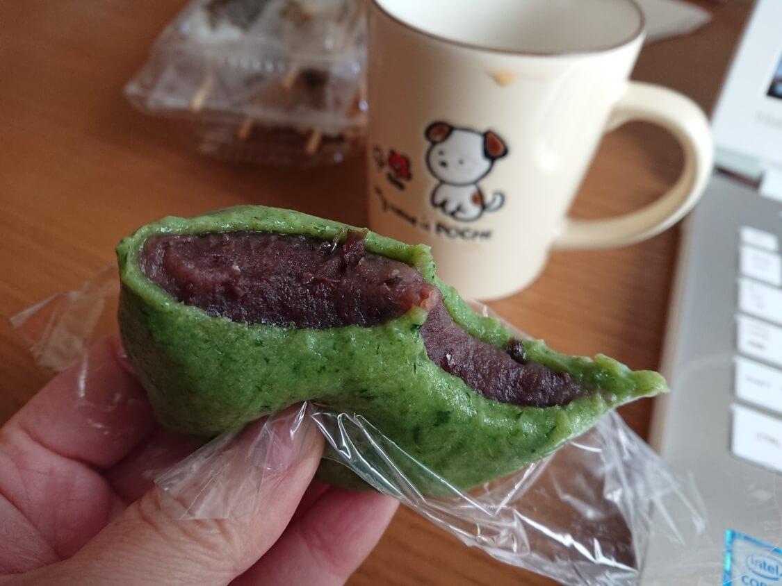 日本と韓国の草餅(ソンピョン)