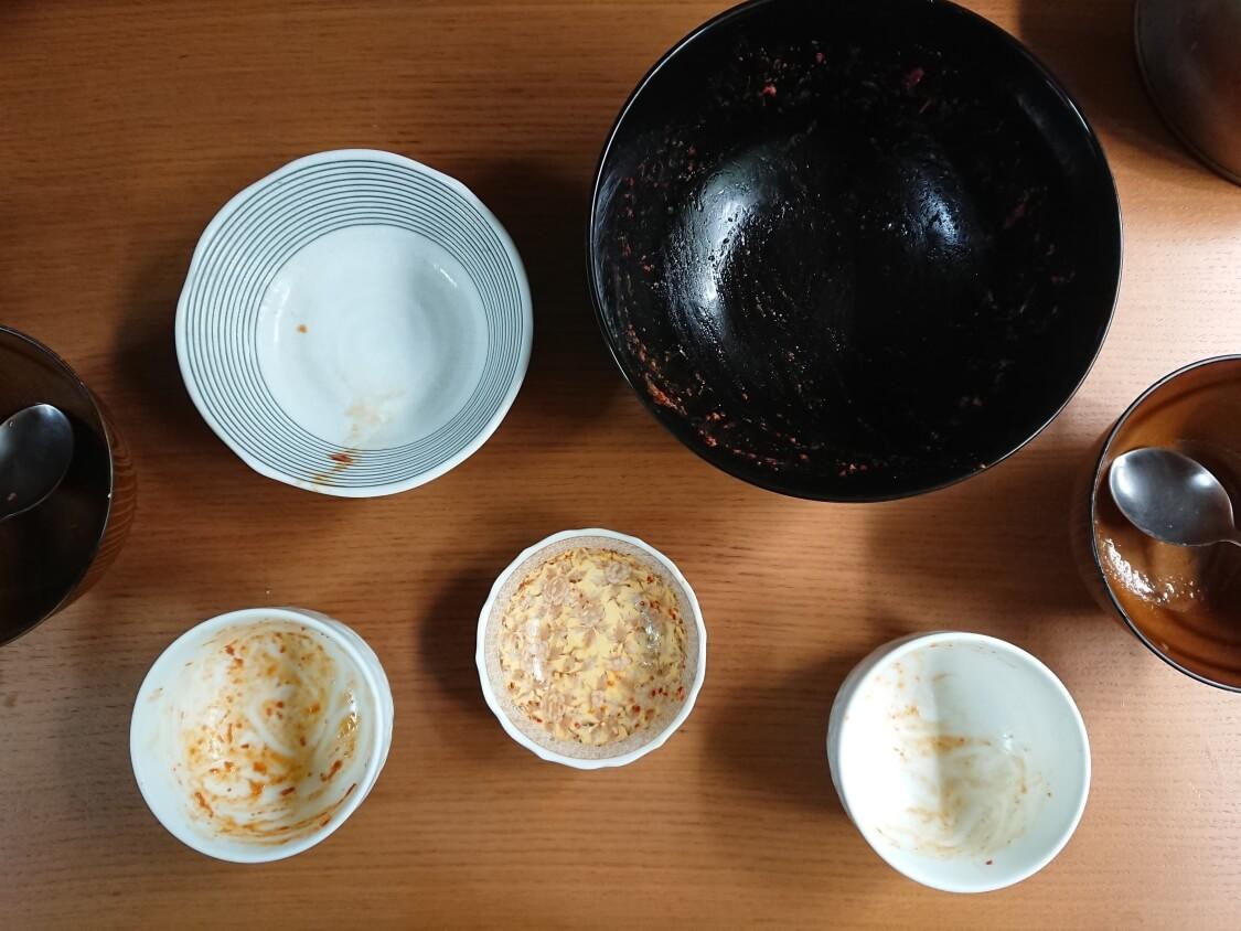韓国風チーズコンビーフ。ホクホクじゃがいも入りの完成。付け合わせて食事