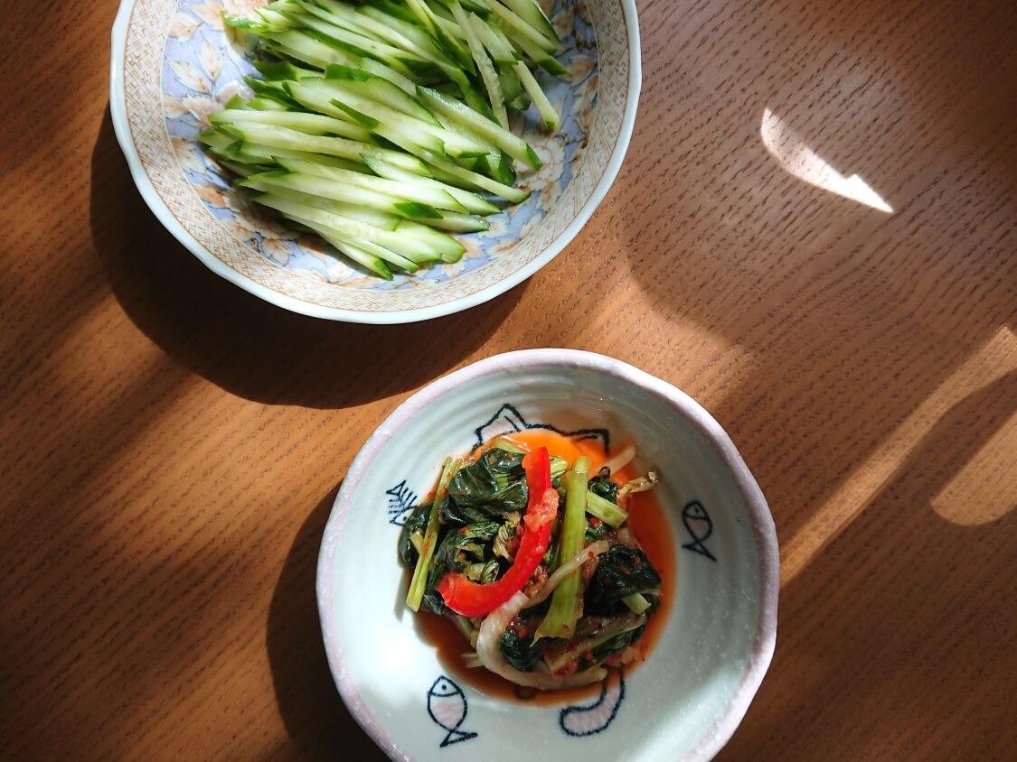 農心ふるるのビビン冷麺。おすすめの具材と野菜
